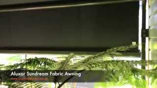 Aluxor Sundream Fabric Awning