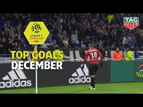 Top Goals Ligue 1 Conforama - December (season 2018/2019)