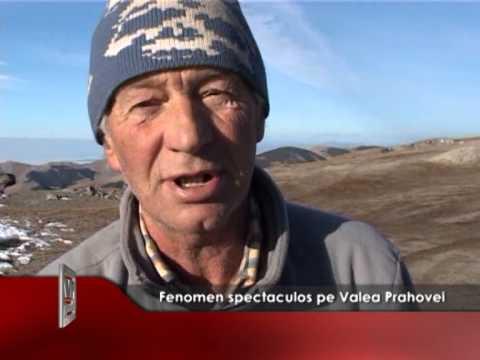 Fenomen spectaculos pe Valea Prahovei