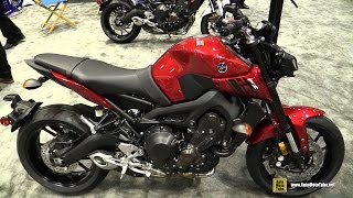 9. 2017 Yamaha FZ09 - Walkaround - Debut at 2016 AIMExpo Orlando