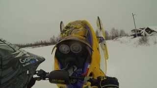 4. Ski Doo  REV MXZ X RS 800 2007  RDL Rips the Field !!