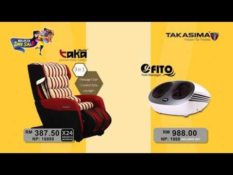 TAKASIMA 2016 Malaysia Super Sale Promotion