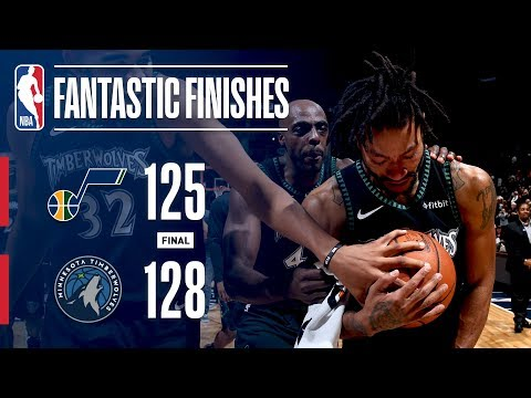 Video: The Jazz And Timberwolves Go All The Way Down To The Wire | October 31, 2018