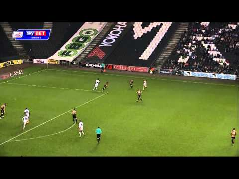 MK Dons 1-0 Port Vale - Sky Bet League 1 Season 2014-1