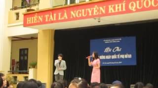 THPT Thăng Long - Hà Nội   . Chương Trình :Nét đẹp Thăng Long - 8 / 3 / 2014