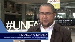 Drones in disaster risk reduction efforts for the agriculture sector