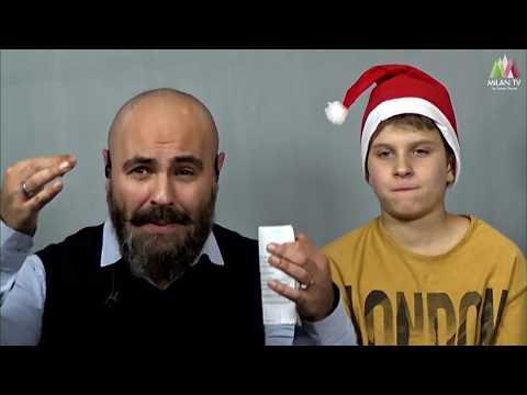 LIVE Новый год по-русски: Макс и итальянские дети (видео)
