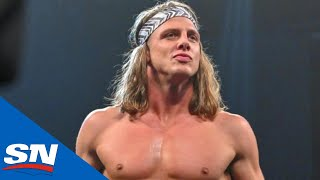 How Did Matt Riddle's Feet End Up A Fail For The Crew? | Aftermath by Sportsnet Canada