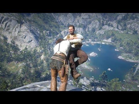 Red Dead Redemption 2 PC 60FPS - Funny & Brutal Moments Vol. 43 (Euphoria Ragdolls)