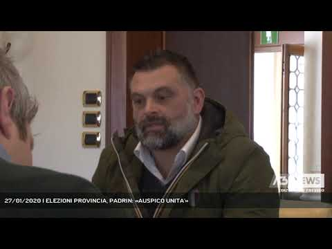 27/01/2020 | ELEZIONI PROVINCIA, PADRIN: «AUSPICO UNITA'»