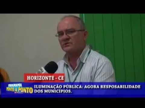 Em Horizonte-CE/Prefeitura assume serviços de iluminação pública