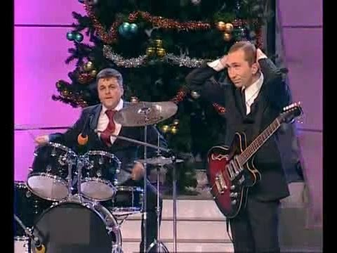 КВН Медведев и Путин лабают рок