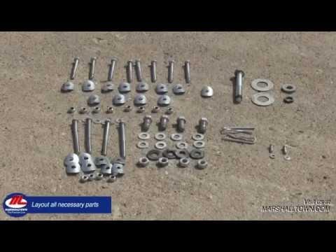 Wheelbarrow Mixer Assembly