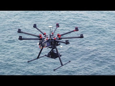 LanLan DJI S1000 Spreading Wings Premium Octocopter