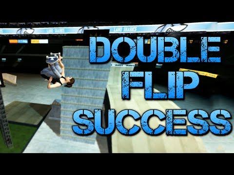 Skate 3 - Part 16 | DOUBLE FLIP SUCCESS | Skate 3 Funny Moments (видео)