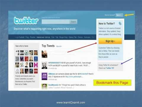 0 Twitter Basics   Set Up Your Twitter Account
