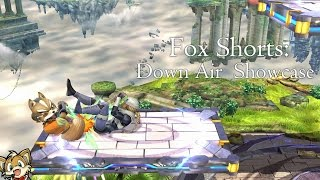 【SSB4】Fox Down Air Setup/Combo Showcase
