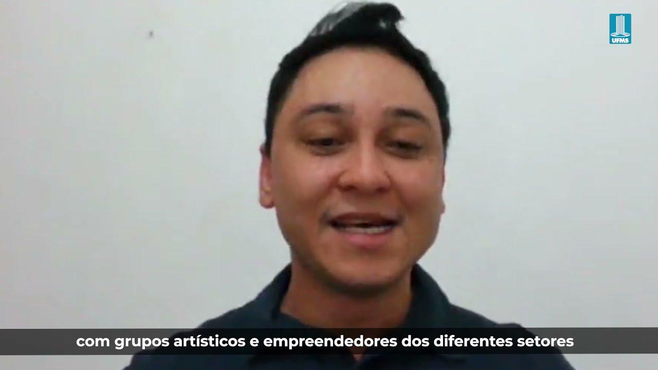 Entrevista para a TV UFMS sobre o projeto Redes Híbridas de Cultura