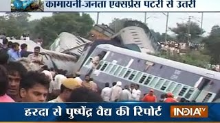Madhya Pradesh India  city photo : 28 Feared Dead Kamayani, Janata Express Train Accident in MP - India TV