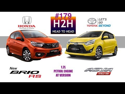 H2h #179 Honda All New Brio Vs Toyota New Agya