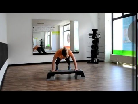 Projekt Bikini Action Figur WORKOUT 8 Das STEPPER Workout