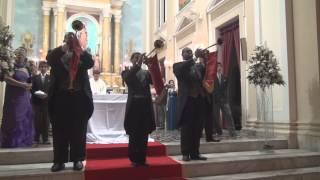 Clarinada e Marcha Nupcial na Igreja Coração de Maria