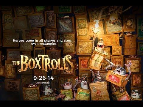 Nouveau trailer pour la nouvelle production Laïka, The Boxtrolls !
