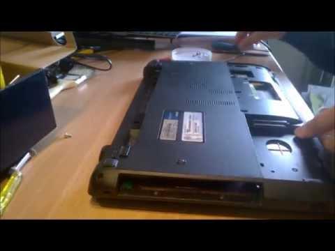 comment demonter ordinateur portable asus