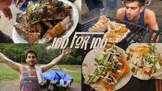 How to Cook for 100 People with $100 by Brothers Green Eats