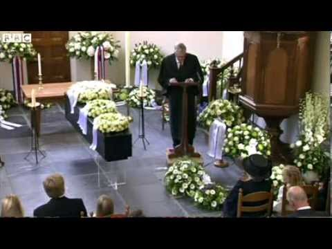 Funeral held for Dutch Prince Friso after lengthy coma
