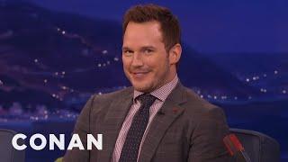Video Chris Pratt's Filthy German Joke  - CONAN on TBS MP3, 3GP, MP4, WEBM, AVI, FLV Oktober 2018