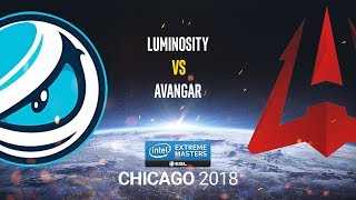 Luminosity vs AVANGAR - IEM Chicago 2018 - map2 - de_train [Enkanis]