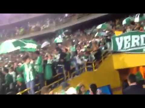 Bogota Verdolaga 2014 Equidad vs Nacional - Nación Verdolaga - Atlético Nacional