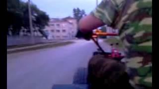 Пробная езда на мотоблоке УЖЕНЕАГРО-ну если чуток