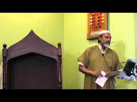 Dr Ahmad Abdullah Intrduece Imam Mr Rajab Ally
