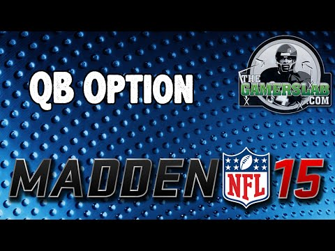 Madden 15 Tips | Gun Doubles Offset Wk | QB Slot Option