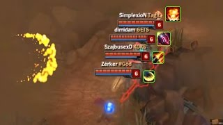LoL Best Moments #180 Bush heaven (League of Legends)
