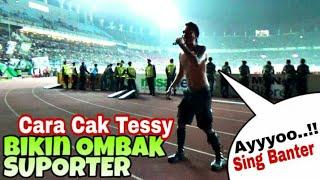 Video Mbengok o Sing Banter..!! Cara Dirijen Bonek Cak Tessy bikin Ombak Suporter - Persebaya vs PSM Mksar MP3, 3GP, MP4, WEBM, AVI, FLV November 2018