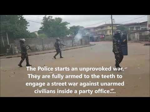 Another Civil War in Sierra Leone has begun under the SLPP Bio