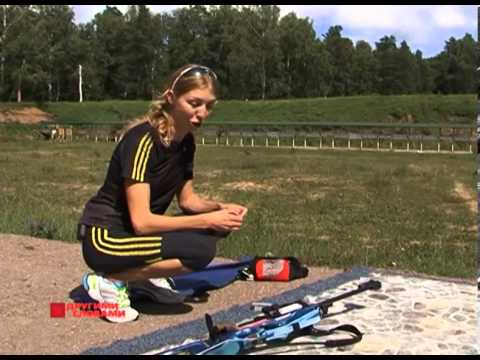 Елена Хрусталева готовится к Олимпиаде в Сочи