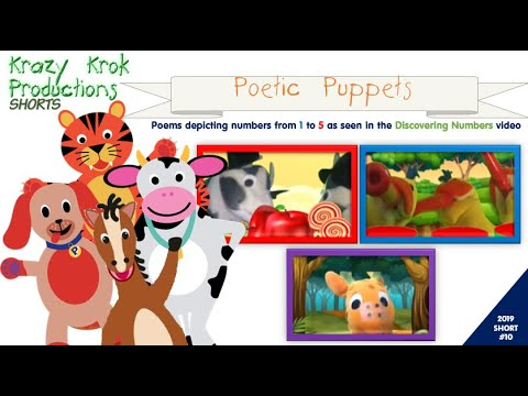 Poetic Puppets - A Short Collection Of Puppet Shows And Poems As Seen In Fun With Numbers