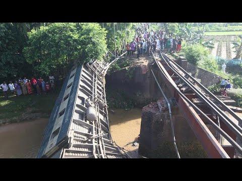 Σιδηροδρομική τραγωδία στο Μπανγκλαντές