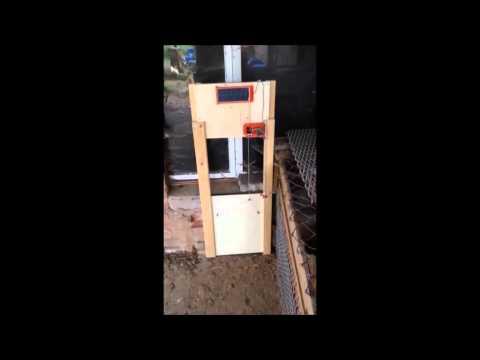 automatische Hühnerklappe by KPY3EP