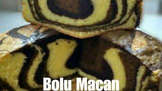 Bolu Macan | Tiger Cake | Bolu Macan Kekinian | Zebra  Cake | Resep bolu macan | Resep bolu marmer