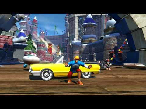 Sonic & Sega All-Stars Racing ALL Character All-Star Powers / Abilities / Moves