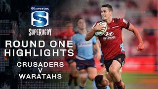 Crusaders v Waratahs Rd.1 2020 Super rugby video highlights   Super Rugby Video Highlights