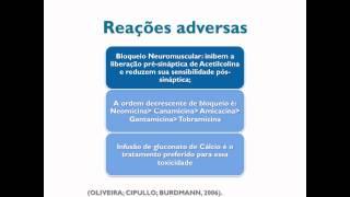 Nassa primeira parte será abordada as ações e indicações dos aminoglicosídeos e tetraciclinas Table of Contents: 00:50 - Modo de ação de antibióticos 01:33 -...
