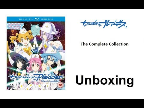 Unboxing: Wish Upon The Pleiades - The Complete Collection (Blu-ray / DVD Combo Pack) [HD]