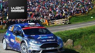 FIA World Rally Championship - WRC 2 - ADAC Rallye Deutschland Winner 2017: Eric Camilli / Benjamin Veillas (M-Sport WRT)...