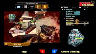 [Ep#13] ORIGINAL SOLDIERZ - AwareGaming vs FCO - Map 4